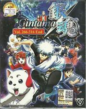 GINTAMA (BOX 5) - COMPLETE TV SERIES 266-316 EPS BOX SET (ENG SUB)