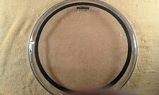 "Premier ""DS Batter"" 15"" twin ply clear drum head. New."