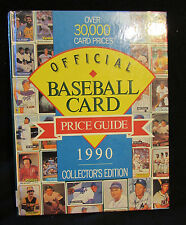 Illustrated Baseball Card Official Price Guide 1990 by Consumer Guide Editors