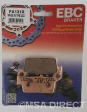 "Kawasaki KX500 (1996 to 2004) EBC ""R"" Sintered REAR Brake Pads (FA131R) 1 Set"