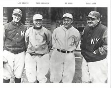 LOU GEHRIG SPEAKER TY COBB BABE RUTH 8X10 PHOTO YANKEES NY BASEBALL MLB PICTURE