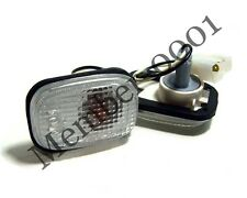 Side Marker Turn Signal Light Lamp White Lens for Nissan D21 Hardbody Pickup