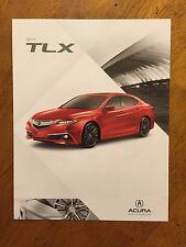 2017 Acura TLX accessories catalog brochure bifold brochure