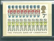 wbc. - GB - PHQ CARDS - 1977 - CHRISTMAS - COMP. SET MINT