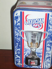AFL POKER CHIPS IN COLLECTOR TIN -2008 - 16 CHIPS PLUS JOHN COLEMAN