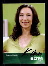 Kirsten Hansen SAT 1 Autogrammkarte Original Signiert # BC 86179