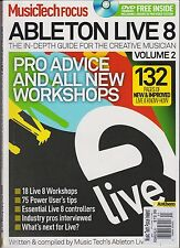 MUSIC TECH FOCUS MAGAZINE ABLETON LIVE 8 UK Vol. 2 2012, WITH FREE DISC.