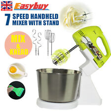 Electric Hand Mixer Balloon Whisk Beater Food Held Powerful Appliances&Stand