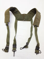 US Military Field Pack Suspenders H-Harness 1950s Regular OD Canvas