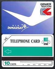 South Africa Tanzania 10u Grinaker telecom via INMARSAT 1991 MINT URMET Neuve