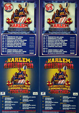 4 X HARLEM GLOBETROTTERS FLYERS - BASKETBALL