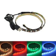 5050 RGB 0.5M 30 LED Light Flexible Strip USB Cable TV/PC XMAS Hallways Lighting