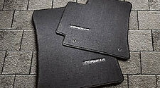 Toyota Corolla 2009 - 2013 Black Carpet Floor Mats - OEM NEW!