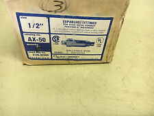 """OZ GEDNEY AX-50 NEW IN BOX 1/2"""" EXPANSION FITTING SOLD SEPERATELY SHELF """"C"""""""