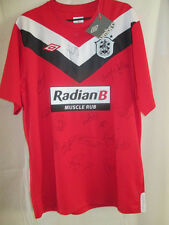 Huddersfield Town 2012-2013 Squad Signed Away Football Shirt with COA /15980