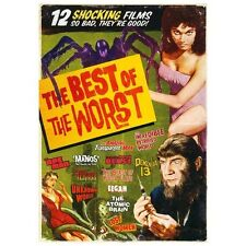 The Best of the Worst: 12 Movie Set (DVD, 2013, 3-Disc Set)
