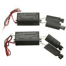 2x Spare CCFL Angel Eye Light Halo Ring Ballast Inverter For BMW E36 E46 E53 E83