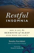 Restful Insomnia: How to Get the Benefits of Sleep Even When You Can't-ExLibrary