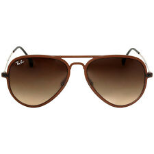 Ray-Ban AVIATOR LIGHT RAY II Men Brown/Brown Sunglasses 56mm RB 4211 6122/13