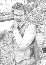 Ethan Hawke Sketch A4 Print