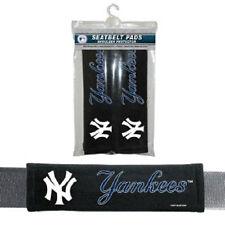 New York Yankees Seat Belt Pads 2 Pack - Car Luggage Seatbelt Shoulder MLB CDG