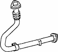 TY348B EXHAUST PIPE FOR TOYOTA LAND CRUISER 2.4 1990-1996