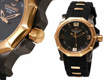 Aquaswiss Men's Vessel  Watch SWISS MADE  Black/Rose Gold NEW