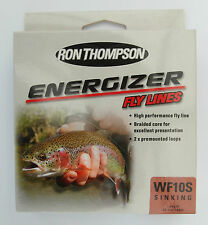 Ron Thompson Energizer Weight Forward 10 Sinking WF10S Colour Brown