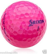 24 Mint Srixon Soft Feel Lady PASSION PINK AAAAA Used Golf Balls