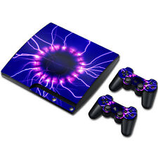Skin Sticker Vinyl Decal Cover For PS3 PlayStation 3 Slim+2 Controllers TN0112