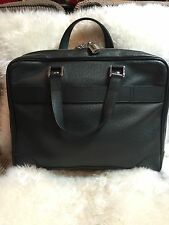 Authentic LOUIS VUITTON Taiga Leather Ardoise Igor Briefcase