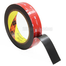 10mm x 1.4m Black 3M VHB 5952 Heavy Duty Double Side Adhesive Acrylic Foam Tape