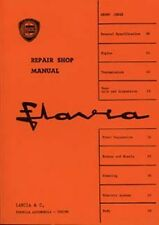 LANCIA FLAVIA SHOP MANUAL BOOK LIBRO AUTO