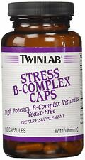TwinLab - Stress B-Complex Caps, 100 capsules
