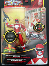 Power rangers Mighty morphin metallic red ranger megaforce