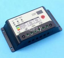 10A Duo Battery Solar Panel Charge Controller Regulator 12/24V Dual Battery UK