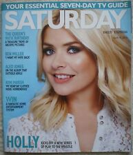 Holly Willoughby – Daily Express Saturday magazine – 16 April 2016