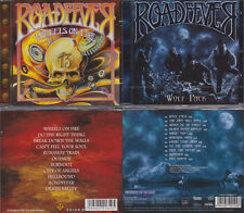 2 CDs, Roadfever - Wheels On Fire (2009) + Wolf Pack (2013) Hard Rock, Sinner