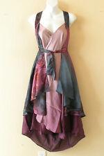 """M652 Reversible Vintage Silk Magic 30"""" Length Wrap Skirt Halter Tube Dress + DVD"""