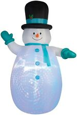 CHRISTMAS INFLATABLE 12' PROJECTION SNOWMAN BY GEMMY