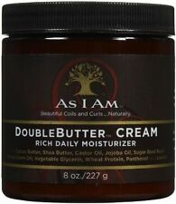As I Am Double Butter Cream Rich Daily Moisturizer 8 oz