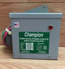 POWER FACTOR OPTIMIZER CAPACITOR ENERGY SAVING SOLUTION BY CHAMPION RES200-1
