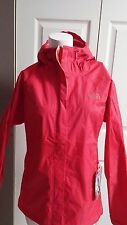 NEW THE NORTH FACE WOMEN'S VENTURE JACKET MELON RED SIZE MEDIUM