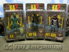 "***** SOLD OUT & BRAND NEW NECA ""Kick Ass 2 Series 1"" Figure Set (3)  MINT *****"