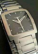 Longines Automatic Men's Watch~Skeleton Back~UV Protective Sapphire Glass~WOW!!