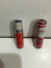 VINTAGE BATTERIES PENLIGHT SANYO AND BG. 1960S