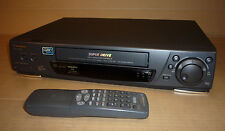 BLACK PANASONIC VIDEO TAPE PLAYER/RECORDER VCR NTSC NV-HD680 JOG CONTROL
