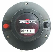 "B&C DE45 - 8  1"" HIGH FREQUENCY DRIVER. (new diaphragm)"