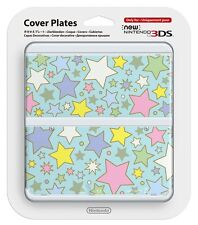 NEW 3DS Official Faceplate Colorful Star no.064 Cover Plates Japan Import