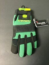 JOHN DEERE JD90010G/L LARGE  THINSULATE LINED COLD WEATHER GLOVE FREE SHIPPING
